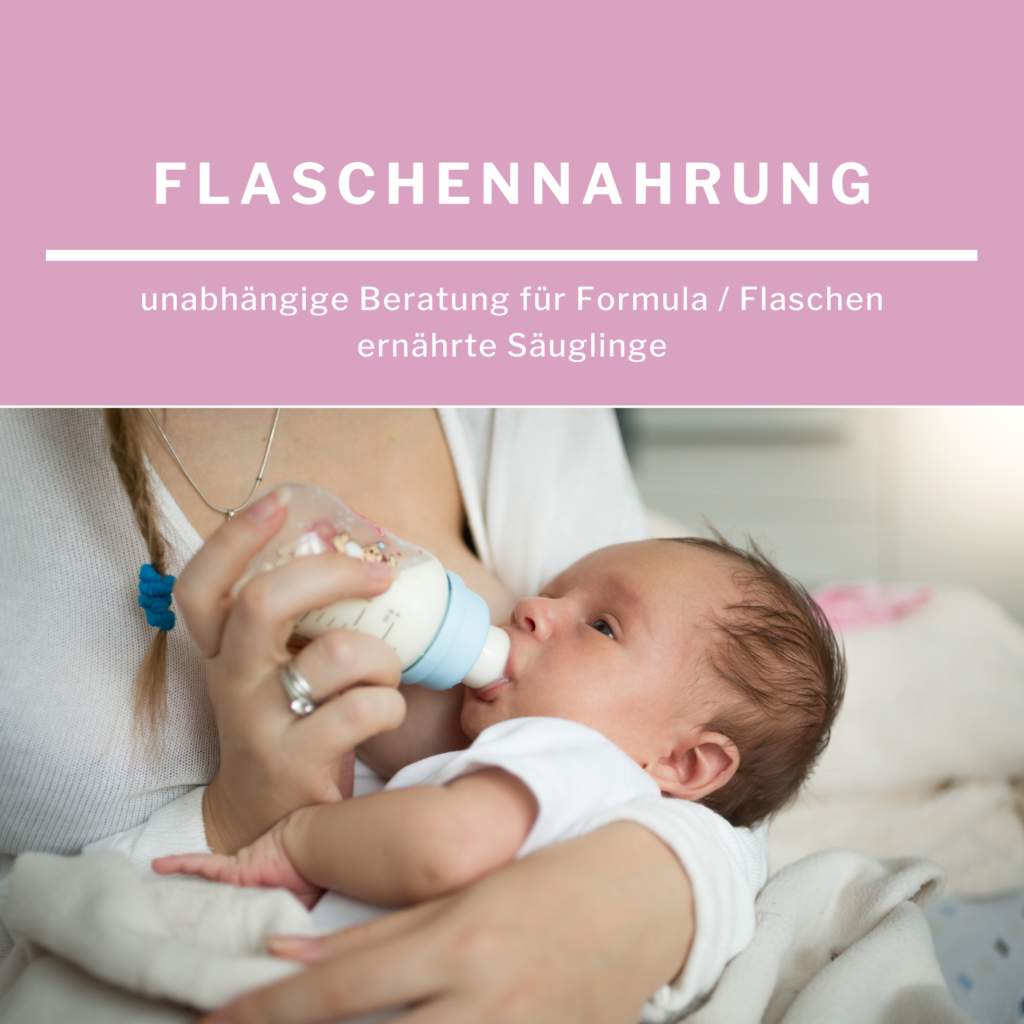 Formula / Flaschen ernährte Säuglinge